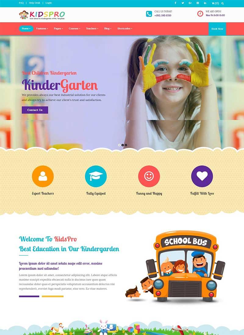 Thiết kế Website trường mầm non Đẹp chuyên nghiệp
