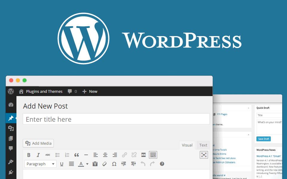 thiết kế website WordPress giá rẻ vì WordPress là mã nguồn mạnh mẽ trên thế giới