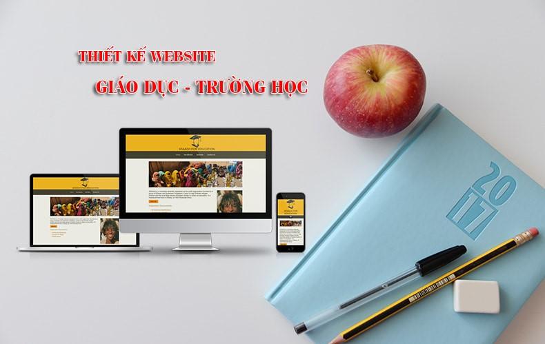 """Thiết kế website giáo dục, trường học hướng đến những cá nhân, tổ chức, doanh nghiệp đã và đang chuẩn bị hoạt động trong lĩnh vực giáo dục, có rất nhiều hình thức hoạt động trong ngành giáo dục như trung tâm đào tạo kỹ năng mềm, đào tạo nghiệp vụ hay các trung tâm ngoại ngữ, trường nghề hay những trường học tư nhân, trường học quốc tế với cơ sở vật chất sang trọng. Thông thường, những website trường học thường có phong cách trang nhã, đơn giản và nghiêm túc đúng với những chuẩn mực của giảng đường hay các đơn vị giáo dục trên thế giới. Thiết kế website giáo dục có nhiều loại hình khác nhau: giới thiệu trường học, tổ chức địa điểm học trực tuyến qua website, tổ chức các chương trình học tích hợp công nghệ với những ứng dụng tuyệt vời, kho lưu trữ tài liệu – nguồn kiến thức rộng lớn cho sinh viên tìm hiểu trực tuyến, quản lý học tập của học viên – sinh viên,… có vô vàn chức năng quan trọng, tác động tích cực đến quá trình học tập của các em. Bạn cần Thiết kế website Giáo Dục - Đào Tạo - Trường học hãy liên hệ với Southteam để được tư vấn tốt nhất như bạn mong muốn. Dịch vụ thiết kế website trường học, giáo dục của Southteam, với khả năng am hiểu về đặc điểm của ngành giáo dục nói chung, web giáo dục, trường học nói riêng, và kinh nghiệm cũng như tài năng của đội ngũ chuyên viên trẻ, năng động, đã xây dựng thành công nhiều website cho các trường học, tổ chức giáo dục và được khách hàng đánh giá cao. Tại sao bạn cần thiết kế website giáo dục – trường học ngay hôm nay? Thiết kế website giáo dục – trường học đang trở thành một xu hướng dịch vụ cho các đơn vị/ tổ chức trong lĩnh vực giáo dục (trang landing đại diện cho hệ thống trường học, trường dạy nghề, trung tâm tiếng Anh,..). Với đặc thù của lĩnh vực giáo dục, Website thường có giao diện nghiêm túc và trang nhã. Giáo dục- trường học cũng được xem là một lĩnh vực kinh doanh, loại hình này mang tên """"kinh doanh giáo dục"""". Trong bất kỳ lĩnh vực kinh doanh nào cũng có sự cạnh tranh, vì thế để tạo ra một chiến lược kinh doa"""